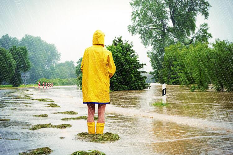 Regenjacke richtig waschen