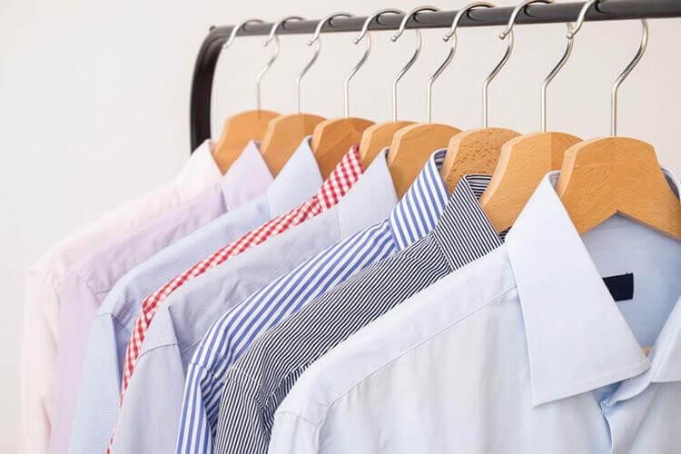 Hemden waschen und bügeln